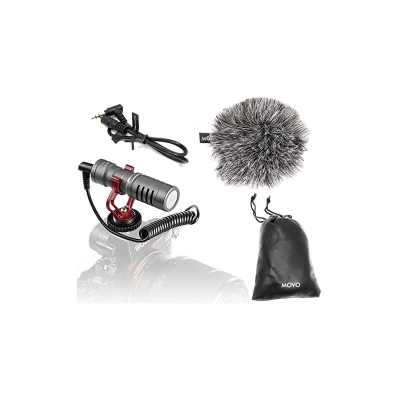 Movo VXR10GY Universal Video Microphone
