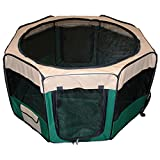 Shop4Omni Portable 45 Inch Puppy Playpen Dog Play Pet Kennel Cage (Green) Review