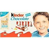 Kinder Chocolate (キンダーチョコレート) 100g (8ケ x 12.5g) - 8 packs 【並行輸入品】【海外直送品】
