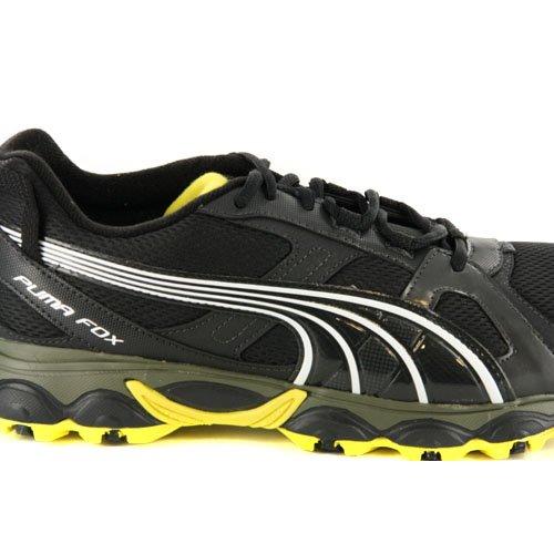 Puma Maglietta Uomo Fox Nero Trail Running Sneaker, Nero