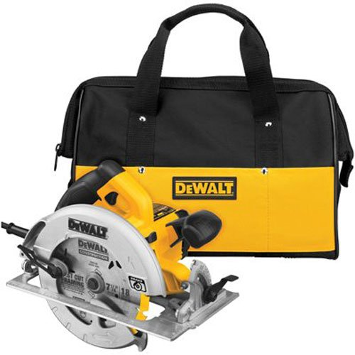 4. DEWALT DWE575SB 7-1/4-Inch Lightweight Circular Saw with Electric Brake