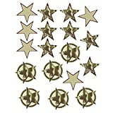 camouflage wall decals - Wallies Wall Decals, Camo Stars Wall Stickers, Set of 18