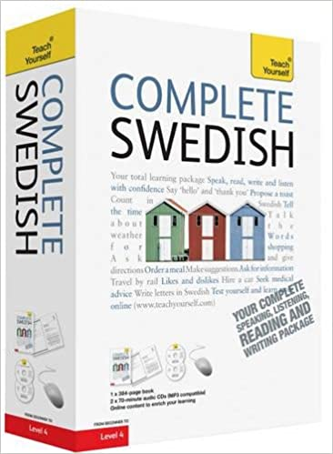 Swedish For Beginners Book