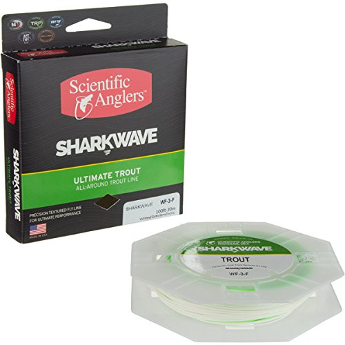 Scientific Angler WF-7-F Sharkwave Trout Fly Line, Ivory/...