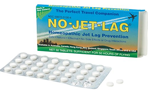 Miers Labs No Jet Lag Homeopathic Jet Lag Remedy, 32 Count