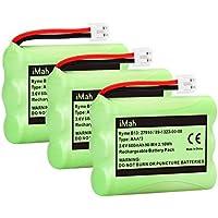 3-Pack iMah Ryme B13 89-1323-00-00 Cordless Phone Battery for Vtech 27910 I6725 Motorola SD-7501 RadioShack 23-959