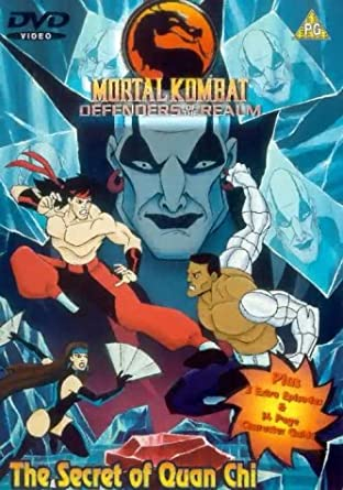 Mortal Kombat: Defenders of the Realm Latino Por Mega
