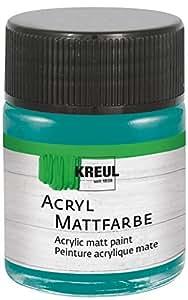 KREUL C.KREUL Acryl-Mattfarbe Hobby Line, petrol, 50 ml