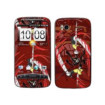Diabloskinz B 0065-0046-0019 de conejo Ninja Skin para HTC ...