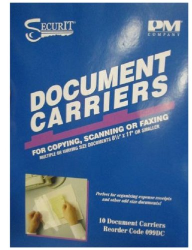 PM Company Fax Document Carrier,...