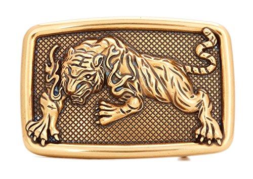 Gurscour Western Tiger Belt Buckle - Bronze (Tiger Buckle)