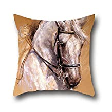 Ciwei Robby Oil Painting Art Horse Office Decor Pillow Covers Decorative ( 20*36 )
