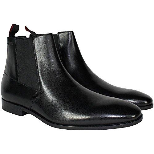 HUGO Herren Square_cheb_ltls 10193333 01 Chelsea Boots Black
