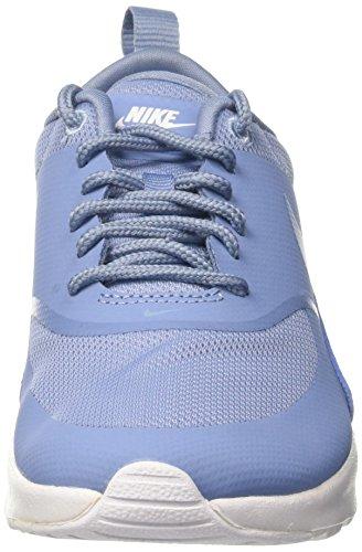 Blue NIKE Air Work Scarpe Blu Wmns Work Thea White da Ginnastica Max Donna Blue qZAqBw1