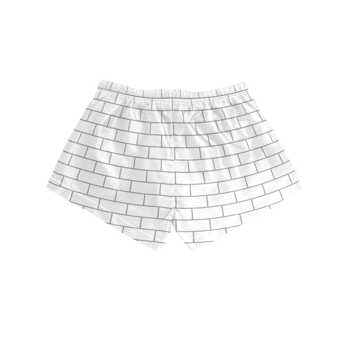 NWTSPY White Brick Systems Home Builders Womens Sport Beach Swim Shorts Board Shorts Swimsuit with Mesh Lining