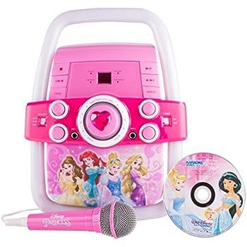 Amazon Com Frozen Deluxe Karaoke With Screen 69127 Toys