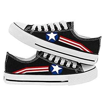 0d8f12843bc95 Amazon.com: Captain America Shoes Avengers Sneakers High Top Endgame ...