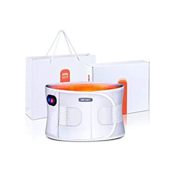 YWY Cinturón de Masaje Vibración Dolor de Espalda Cintura Masajeador Warm Palace Electric La calefacción Ayuda