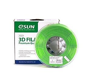 eSUN 1.75mm Peak Green ABS 3D Printer filament 1kg Spool (2.2lbs), Peak Green by ESUN