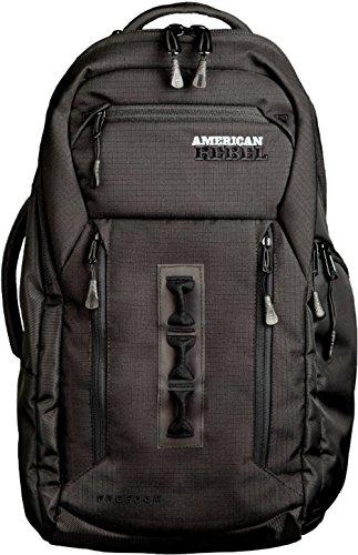 Concealed Backpack Holster for Men and Women, American Rebel Large Freedom Concealed Carry Backpack (Black/Black Trim, Large)