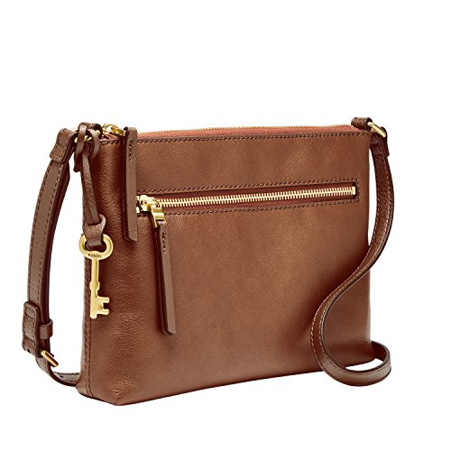 Fossil Fiona EW Crossbody Brown