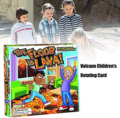 auspilybiber Juego de mesa familiar, Innovative Lava Volcano Juego ...