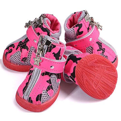 Chien 7cm Chaussure Chat Protection Bottes Rose De Rouge Lpattern 3 Antidérapants 4 l4 5 C Pour Respirantes Noir A w3 Chaussons Hiver Pièces qHvYwt