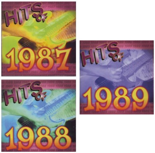 Hits of 1987, 1988, 1989 [[[30 SONG / 3 DISC SET]]] Dan Hill / Surface / Europe / Gregory Abbott / Lisa Lisa and Cult Jam / Dead or Alive / Eddie Money / Luther Vandross / Hipsway / The Bangles / Will to Power / Cyndi Lauper / Teena Marie / Terence Trent D'Arby / Johnny Kemp / Henry Lee Summer / REO Speedwagon / Deniece Williams / Basia / New Kids on the Block / Living Colour / Bad English / Warrant / The Outfield / Regina Belle Mix Bangle Set