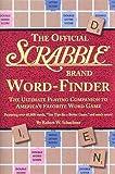 The Official Scrabble Brand Word-Finder, Robert W. Schachner, 1579121047