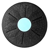 KathShop 360 Degree Rotation Balance Board Massage Disc Round Plates Board for Exercise Physical Fitness Equipment