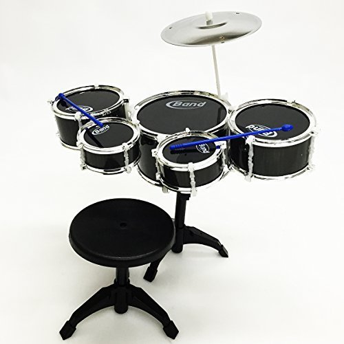 apontus-childrens-kids-musical-instrument-drum-play-set-w-5-drums-cymbal-chair-drumsticks