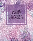 Mom's Family Planner Organizer: Purple Floral Parents Ultimate Household Managment Book | Add Details of 4 Children, Emergency Infromation, School ... Paperback (Family Stationery) (Volume 8)