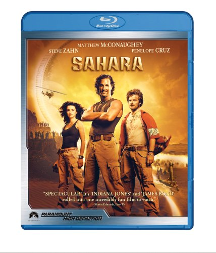 Sahara (2005) (Subtitled, Dolby, Digital Theater System, Widescreen, Sensormatic)