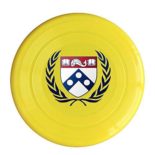 AOLM University Of Pennsylvania Outdoor Game Frisbee Flyer Frisbee Yellow - Kong Flyer Disc
