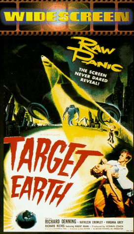 Target Earth [VHS]