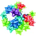 Pack of 50 Self Adhesive Gift Bows in Assorted Colors