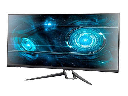 Monoprice MP 35in Zero-G Curved Ultrawide 21:9 FreeSync 2.0 100Hz 1440p UWQHD Gaming Monitor