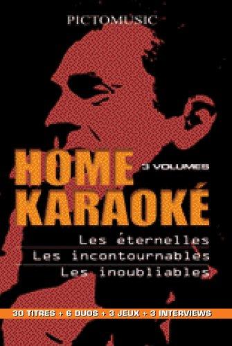 (Coffret home karaoké 3 DVD - vol. 1 : les éternelles / les incontournables / les inoubliables)