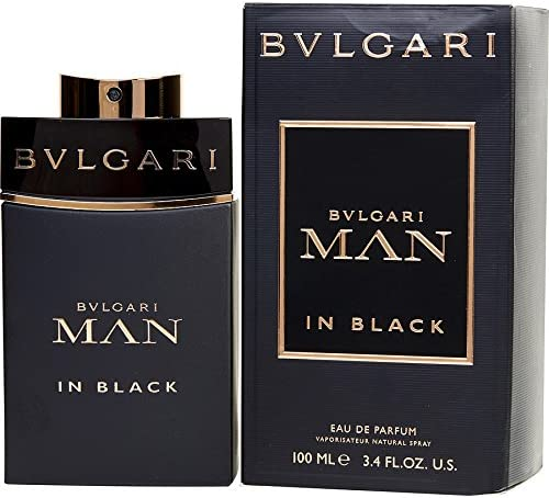 Bulgari Man in Black Perfume para Hombre EDP 100 ml 3.4 oz