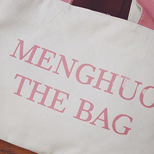 Hobo Tote Blue Womens Bag Bag Canvas Bag Shopping Shoulder Crossbody qaYtz