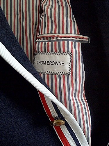 Thom Browne for Neiman Marcus + Target Navy Wool Blazer Size Medium by Thom Browne (Image #7)