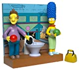 The Simpsons Fast Lane Bowling Alley Playset with Marge and Jacques