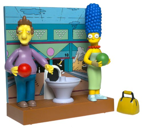 the-simpsons-fast-lane-bowling-alley-playset-with-marge-and-jacques