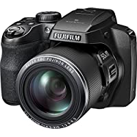 Fujifilm FinePix S9800 Digital Camera with 3.0-Inch LCD (Black) At A Glance Review Image