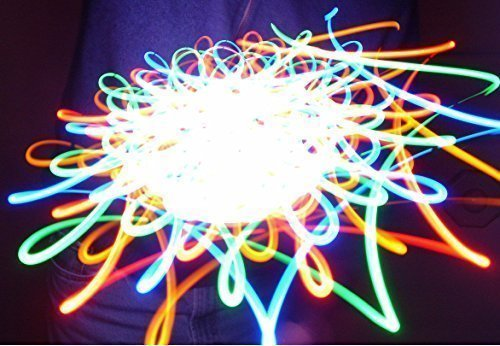 Colorburst - Orbital Rave Light Toy - LED Orbit Spinning Light Show by Rob's Super Happy Fun Store
