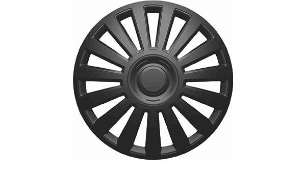 TEC Universal Tapacubos Tapacubo Negro 15 pulgadas para el vehículo de ellos Seleccionados, véase Artículo Detalles: Amazon.es: Coche y moto