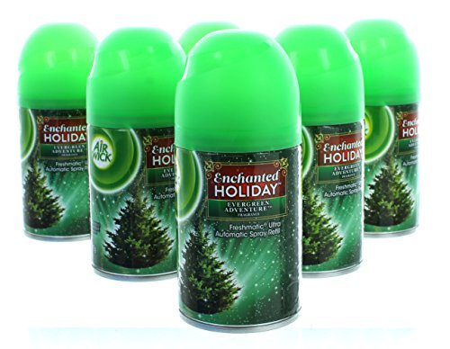 (Evergreen Adventure Air Wick Freshmatic Ultra Automatic Spray Refill 6 Can Set)