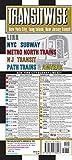 Transitwise New York, New Jersey Metro Transit Map: LIRR NYC Subway Metro North Trains NJ Transit Path Trains & Amtrak (Michelin Transitwise Maps)