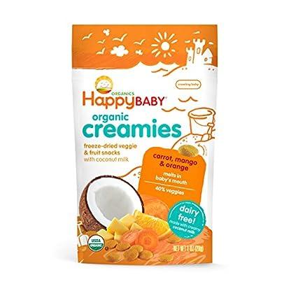 Organic Fruit Snacks, Happy Baby Creamies