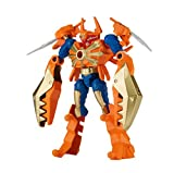 Power Rangers - Mixx N Morph Samurai Gold Ranger and ClawZord Action Figure Pack